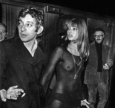 Serge Gainsborough and Jane Birkin