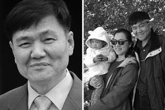 """Dae Kwun Yoon taught his son that he had """"something special to offer society as a Korean American who has a different perspective. Hard Breathing, Atomic Blonde, New Line Cinema, Becoming A Father, Clown Faces, Korean American, Viral Trend, College Years, Buzzfeed News"""
