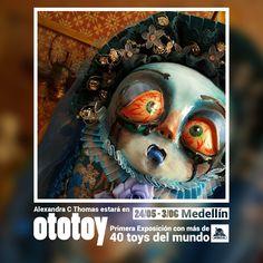 PROMO   2016 MAY #OTOTOY Exhibition in #Colombia #IMAGENPALABRA Festival #ArtToyExhibitionCOLOMBIA and more... #ARTtoyEXHIBITION organized by #Artefacto Inc. Art Toys (#ARTtoyGAMA Collective )  #Exhibition #ToyShow #ToyEvent #contemporaryArt #ArtToys #DesignerToys #CustomToys #UrbanToys #customtoys #toyart  #ArtToyCulture ART TOYS: MORE THAN DIS(PLAY)   #arttoyphotography art by FRIKI ART DOLLS from PERU