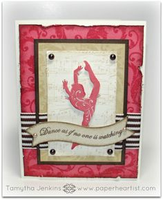 """Paper HeARTIST: August's Stamp of the Month...""""Baroque Borders"""""""
