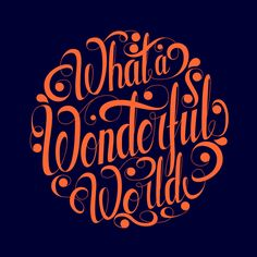 Letterings by Roberlan Borges, via Behance