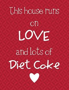 for you dawn, but just 1 diet coke and of course a granola bar!