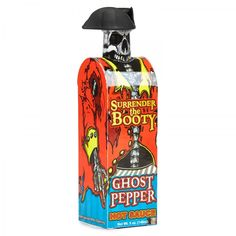Surrender The Booty Ghost Pepper Hot Sauce 148ml