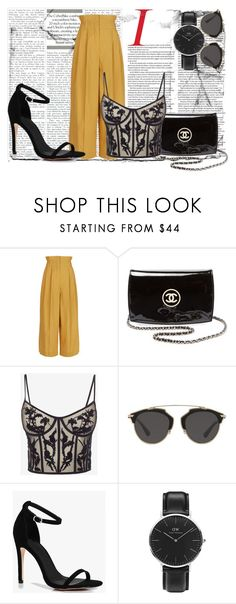 """SxE"" by vickyyates on Polyvore featuring Sonia Rykiel, Chanel, Alexander McQueen, Christian Dior, Boohoo and Daniel Wellington"