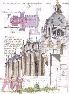 Almudena Kathedrale, Apsis, Madrid, ES