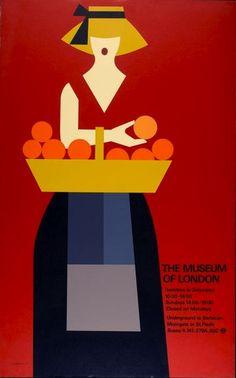 Tom Eckersley (1977), Museum of London poster