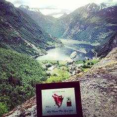 Best Tuscan #Wine Lover 2013 Trophy bringing back #norway #fjord to life