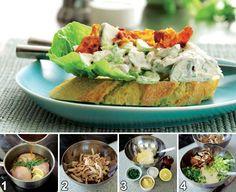 Opskrift på Nem og lækker hønsesalat fra - Hjemmet