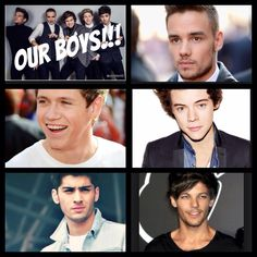 Our boys!!!--- One Direction!!!
