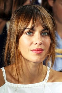 Hair Crush: Alexa Chung's Shaggy Fringe | Le Fashion | Bloglovin'