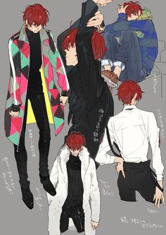 Read Tsukkiyama 2 from the story Haikyuu! RANDOM by justheartabautme with reads. Cosplay Anime, Haikyuu Fanart, Haikyuu Anime, Manga Boy, Manga Anime, Anime Boys, Anime Lindo, Another Anime, Boy Art