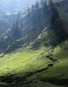 Mountains, mountains, mountains...