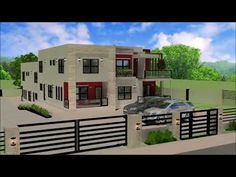 Featured Plan July 2020 Modern Townhouse, Trinidad, House Plans, Construction, The Unit, San, Mansions, How To Plan, House Styles