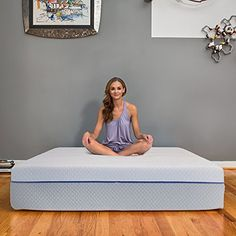 """12 Inch Gel Memory Foam & Latex Innerspring Hybrid Mattress, Made in the USA, Twin - The eLuxurySupply 12 Inch Gel Memory Foam & Latex Innerspring Hybrid Mattress is made in the USA and specifically tailored for your comfort. The 2"""" Gel Infused Memory Foam top adjusts to the shape of your body to relieve pressure points and properly align your spine while the 1"""" BiOH Gel Latex la..."""