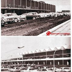 The old Northwest Orient main building and MSP terminal