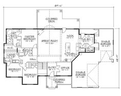 Basement floor plans basement floor plans examples for Rambler house plans with walkout basement
