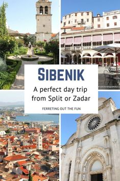 Sibenik, Croatia: A Perfect Day Trip Destination - Ferreting Out the Fun Europe Travel Tips, Travel Advice, Travel Guides, Travel Destinations, Magical Vacations Travel, Vacation Trips, Places To Travel, Countries Europe, Fun Adventure