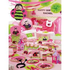 Lady Bug 1st Birthday Party Theme