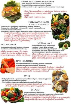 Podstawowe informacje o zdrowym odżywianiu