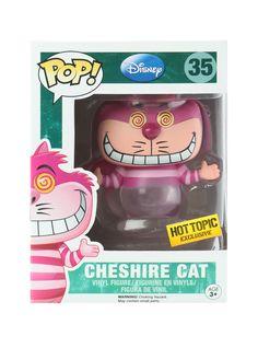 Rare Half Invisible Cheshire Cat Pop Vinyl