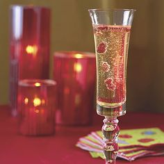 Champagne and Cranberries - Top Holiday Cocktails Recipes - Southern Living