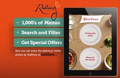 Now you can enjoy the delicious #IndianDishes by Radhuny Indian Restaurant at Eat2Save #IndianTakeaway #OrderFoodOnline  #Restaurants #Curry #Foodie