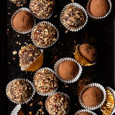 Easy recipe for creamy, Dark Chocolate Whiskey Truffles. Dark chocolate ganache infused with whiskey or bourbon, and coated in cocoa powder or pecans. Chocolate Truffles, Chocolate Ganache, Chocolate Peanut Butter, Chocolate Desserts, Chocolate Brownies, Whiskey Chocolate, Chocolate Peanuts, Chocolate Lovers, Cupcakes Au Cholocat