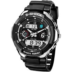 #Valentines #AdoreWe #Zapals - #Zapals ALIKE AK1170 Men Waterproof LED Sports Watch - AdoreWe.com