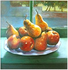 Rita Monaco - Painting, Oil, still life