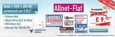 Telekom Allnet Flat mit 200 MB LTE für 9,95€ http://www.simdealz.de/telekom/mobilcom-debitel-telekom-special-allnet/