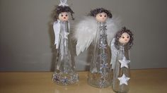 Vánoční dekorace  - Navlékněte si dětmi řetězy z přírodnin, upečte perníčky nebo si vyrobte si sněhuláky z prázdných lahviček od actimelu.  ( DIY, Hobby, Crafts, Homemade, Handmade, Creative, Ideas)