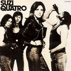dear golden | vintage: Suzi Quatro    Bad A$$!