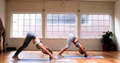 Energize that flow http://www.thecoveteur.com/partner-yoga-moves-sky-ting/
