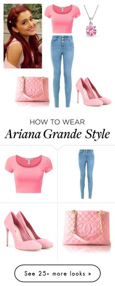 """Cat Valentine"" by charmedgreys on Polyvore featuring New Look, Miu Miu and Bling Jewelry"