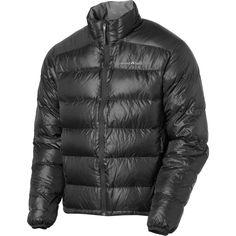 Pack light men's down jacket