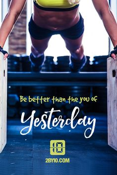 Be better every day. #health #fitness #fit #gym #dedication #fitspo #fitnessaddict #workout #hiit #intervaltraining #train #training #trainhard #motivation #health #healthy #healthychoices #active #strong #determination #lifestyle #diet #getfit #exercise #pushpullgrind
