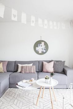 Home Tour: Whimsical Pastel Family Home
