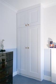 bedroom built in alcove wardrobe Alcove Wardrobe, Bedroom Built In Wardrobe, Bedroom Built Ins, Made To Measure Furniture, Built In Furniture, Bespoke Furniture, Kitchen Furniture, Bedroom Furniture, Made To Measure Wardrobes