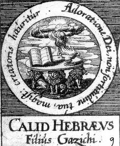 ALQUIMIA VERDADERA: Emblema 9. Calid, el judio, hijo de GazichusEl magisterio del Creador proviene de la adoración de Dios, no de tu fuerza.