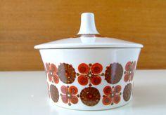 TuriDesign Morocco Sugar Bowl  Figgjo Flint by thelittleblackhouse