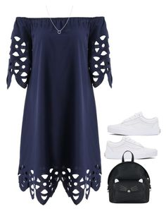 """Bez naslova #1256"" by nely01 ❤ liked on Polyvore featuring Vans, Accessorize and Astrid & Miyu"