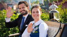 Prince Carl Philip of Sweden and his Fiancee Sofia Hellqvist