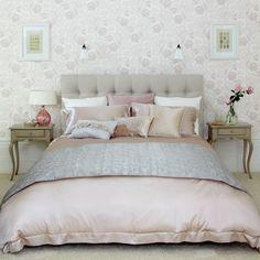 10 ideeën voor een slaapkamer met wit, roze en grijs   www.archana.nl