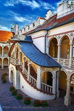 Baranow Sandomierski Palace - Renaissance palace built in 1591-1606, known as 'Little Wawel'.