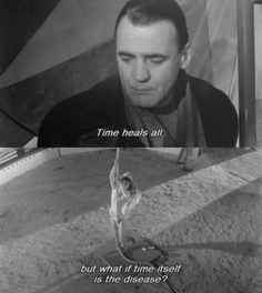 """""""Time heals all, but what if time itself is the disease?"""" - Bruno Ganz in Wim Wenders' """"Der Himmel Uber Berlin"""" aka """" Wings of Desire"""", Cinema Quotes, Tv Quotes, Poem Quotes, Words Quotes, Best Quotes, Sassy Quotes, Sayings, Classic Movie Quotes, Wings Of Desire"""