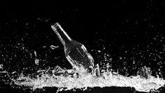 glass break in water
