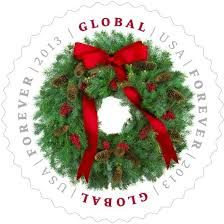 christmas postage stamps 2013 Global Forever
