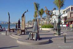 La Rotunda del Mar (The Rotunda of the Sea) by Alejandro Colunga. Statues on Puerto Vallarta's Malecon - #puertovallarta #vallarta #mexico #jalisco http://twitter.com/puertovallarta2 http://www.facebook.com/puerto.vallarta.jalisco.mexico