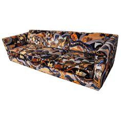 1stdibs - Harvey Probber sofa in Jack Lenor Larsen explore items from 1,700  global dealers at 1stdibs.com