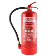 3ltr Dry Water Mist Fire Extinguisher